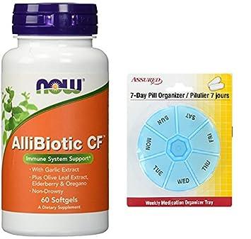 AHORA AlliBiotic CF no causa somnolencia, 60 cápsulas