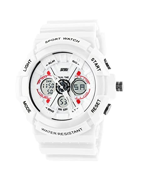Relojes de Hombre Sport LED Digital Military Water Resistant Watch Digital Men De Hombre Para Caballero