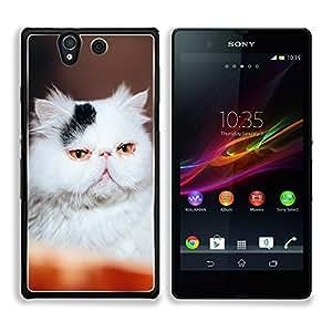 Print Motif Coque de protection Case Cover // V00000948 Gato Kitty patrón animal // Sony Xperia Z5