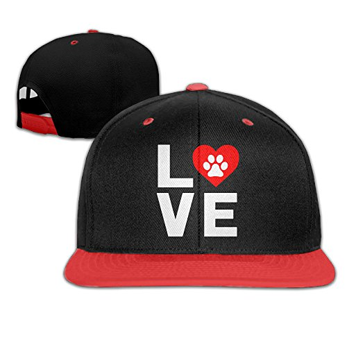 Kids Boy's & Girl's Animal Lover Paw Print Outdoor Hip Hop Tour Cotton Snapback (Funniest Pet Costumes)
