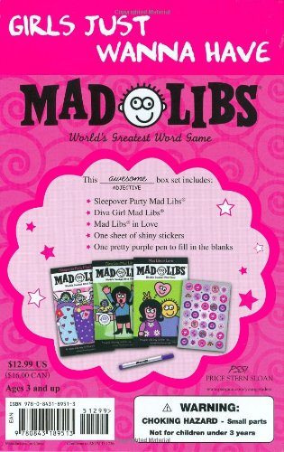 Girls Just Wanna Have Mad Libs: Ultimate Box Set: Roger