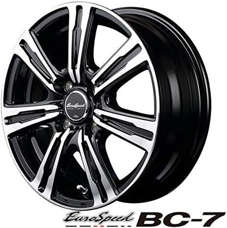 軽自動車【アルミ単品4本価格】EuroSpeed BC-7/ユーロスピードBC-7 14X4.5J 4穴 PCD:100