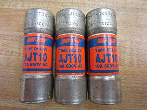 (Shawmut AJT10 Amp Trap Fuse 10 Amp (Pack of 3))