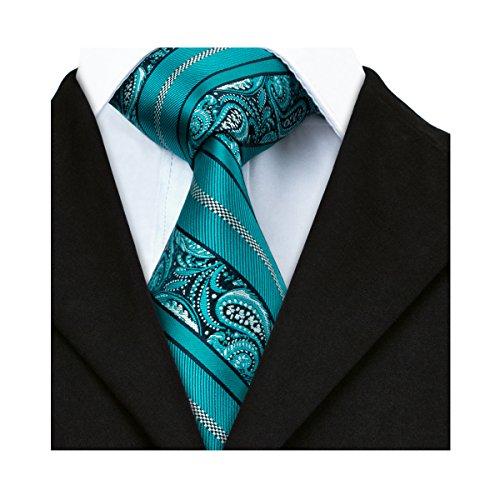 Silk Paisley Tie - 4