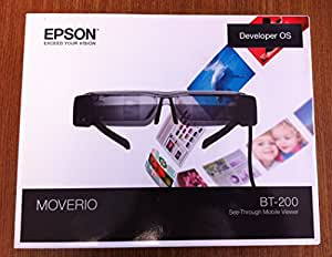 Epson Smart Glass Virtual Video Head mounted display MOVERIO BT-200 Immersive 3D
