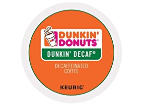 Dunkin Donuts Dunkin Decaf single serve K-Cup pods for Keurig brewers, 96 Count