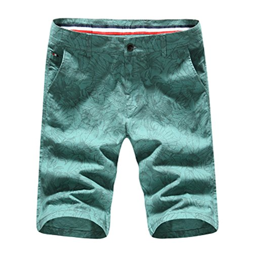 [YUEGUANGXIA Fashion summer shorts men linen slim fit mens shorts] (Morph Suite)