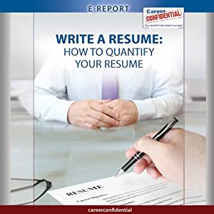 Write a Resume Audiobook