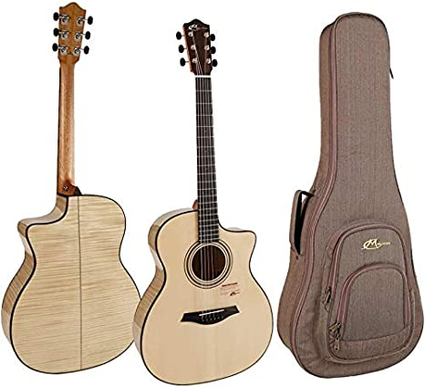 Guitarra Acústica Mayson M7/SCE1 - Incluye Funda: Amazon.es ...
