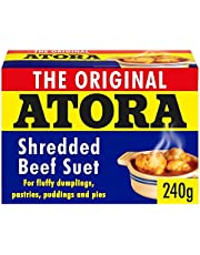 Atora Shredded Beef Suet 200g - Pack of 6