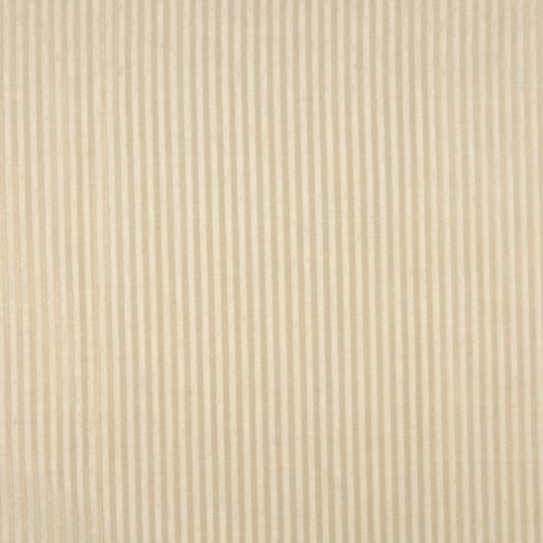 A105 Beige Thin Stripe Upholstery Fabric by The - Cuzco Stripe