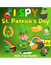 I Spy St. Patrick's Day: A Fun Guessing Game Book for 2-5 Year Olds | 54 Colored Pages Of Fun & Interactive Picture Book for Preschoolers & Toddlers