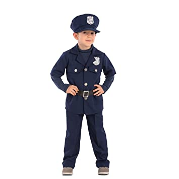 Carnival Toys - Disfraz de policía para niño unisex-child ...
