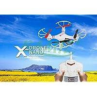 Mini Drone Cuadricóptero Quadcopter X-Drone Nano - Blanco