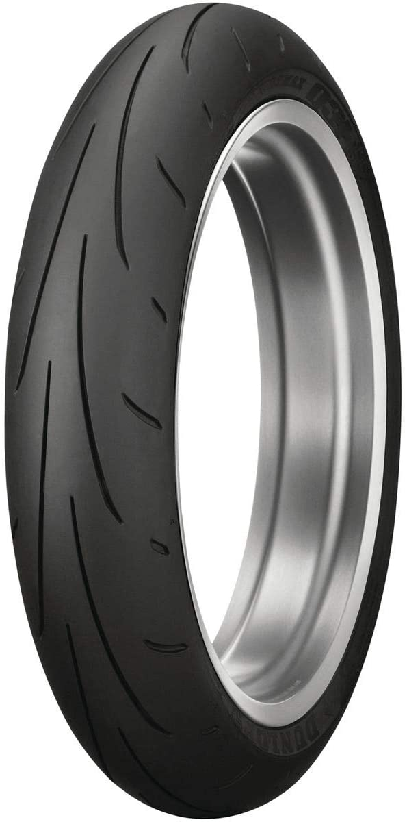 Dunlop Sportmax Q3+ Front Motorcycle Tire 120/70ZR-17 (58W) - Fits: Aprilia Caponord 1200 ABS 2014-2018