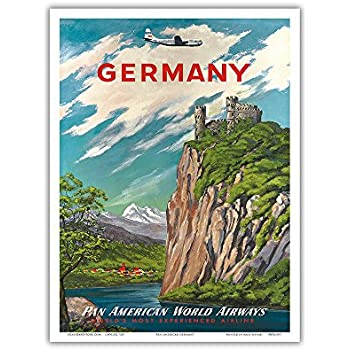 """TWA Airline 8.5/"""" x 11/""""  Travel Poster GRAND CANYON"""