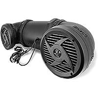 Pyle Tornado Waterproof ATV Speaker Sound System, For UTV Go Cart All terrain,500 Watt, 6.5-Inch, AUX Input
