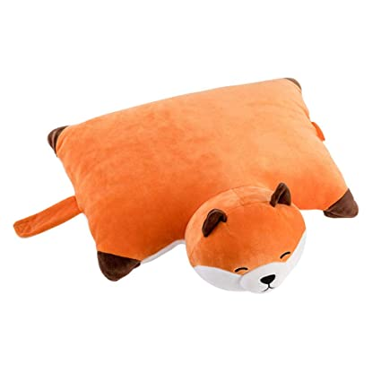 Amazon.com: MASSJOY Almohada plegable multiusos, diseño de ...