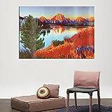 5D Diamond Painting DIY Lake Room Embroidery Cross Stitch Home Decor