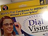 Best Eyeglass Lenses - Dial Vision Adjustable Lens eyeglasses authentic astv items Review