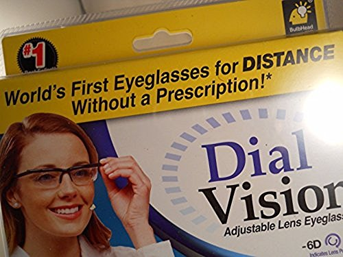 00a5460c1a Dial Vision Adjustable Lens eyeglasses authentic astv items from -6D to  +3D