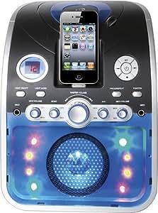 Ilive: Cd+g Karaoke System with Apple iPod, iPhone Dock IJP382B