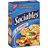 Nabisco Flavor Originals Sociables Baked Savory Crackers, 7.5 Ounce