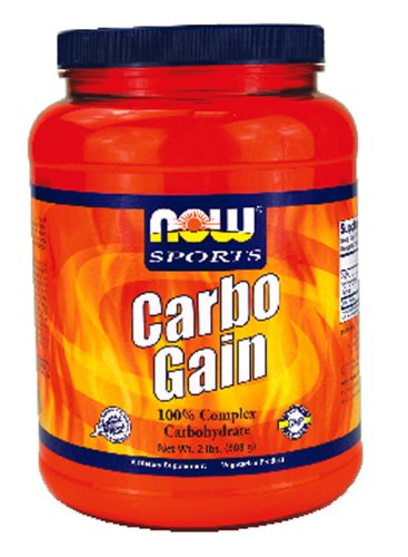 Now Foods Carbo Gain 100% Complex Carbohydrate - 2 lbs. 12 Pack