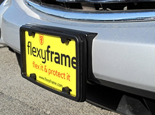 A NASA-like Rubber License Plate Bracket Frame Holder Guard Bumper for INFINITI