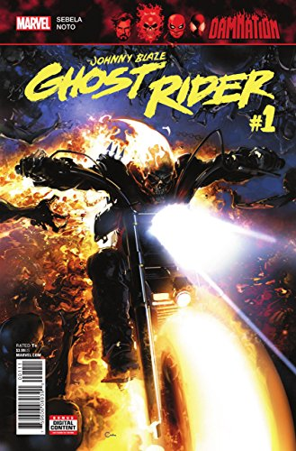 Damnation: Johnny Blaze - Ghost Rider (2018) #1 VF/NM