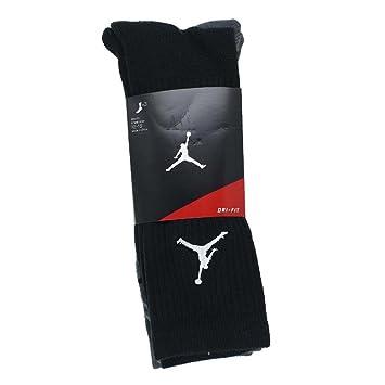 ff4ac25d Nike Michael Jordan Jumpman Crew 3PPK Socks Line, Man: Amazon.co.uk ...