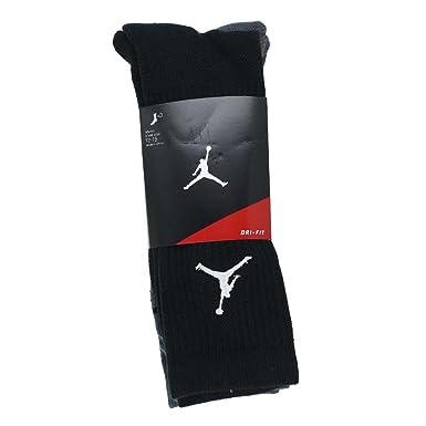 2b98f7238e291 Jordan Nike Jumpman Dri-Fit Crew - Calcetines (3 unidades