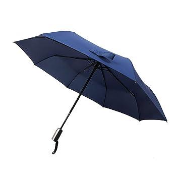 kaimao automático pantalla grande viajes sol/lluvia paraguas sombrilla para hombres y mujeres, compacto