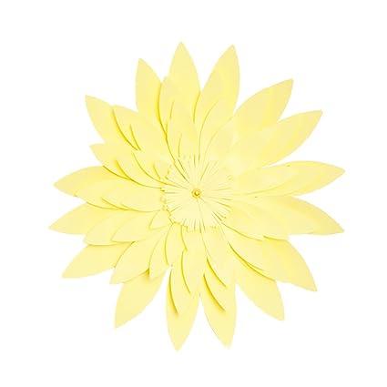 Amazon Bestorard 3d Paper Flower Wall Decor Artificial Paper