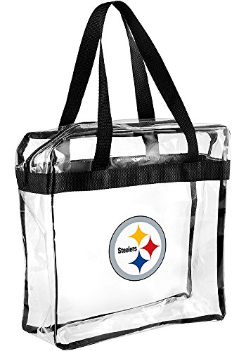 NFL Team Messenger Bag NFL Football Clear Pittsburgh Steelers by FOCO