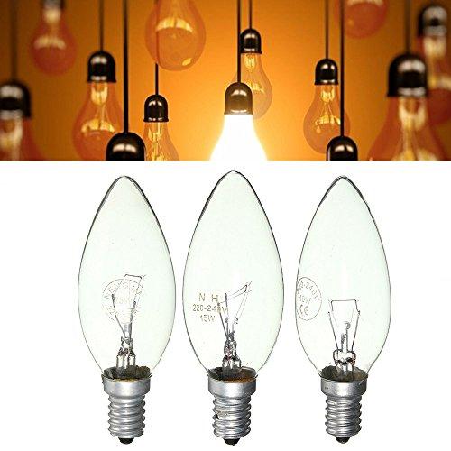 Led Light Bulbs - E14 15w/25w/40w Warm White Vintage Edison Incandescent Candle Light Lamp Bulb Ac220v - Incandescent Bulbs Bulb 100w St64 Edison 220v 60w E27 C35 B22 E14 Watt Light - 60 - 1PCs