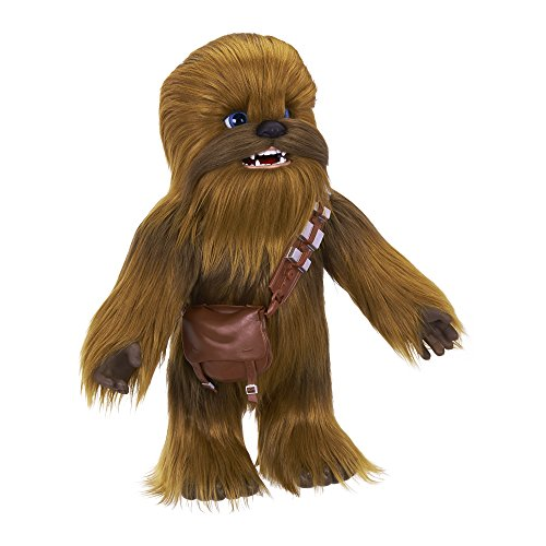 Star Wars Ultimate Co-pilot Chewie Interactive Plush Toy, brought to life by furReal, 100+ Sound-and-Motion Combinations, Ages 4 and Up (Talking Action Pilot)