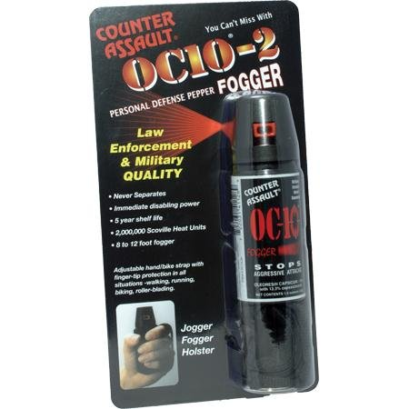 Counter Assault Pepper Blitz with Key Ring, 0.5-Ounce, Clear by Counter Assault