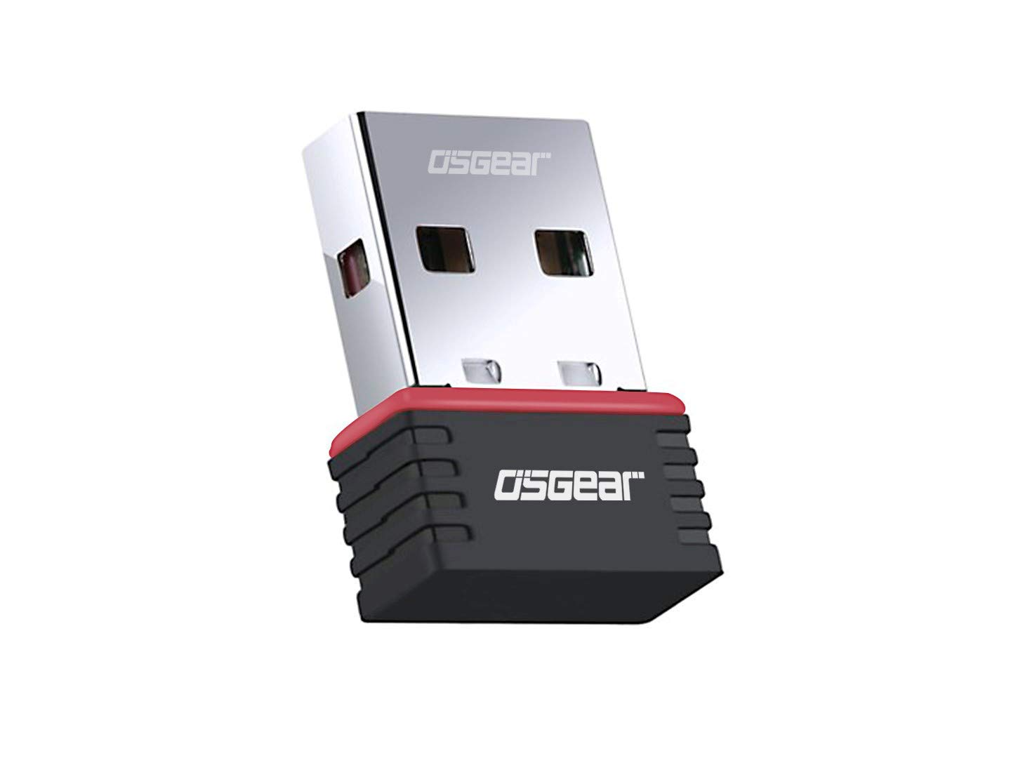 OSGEAR WiFi Adapter 150Mbps USB Wi-Fi Wireless Adapter USB 2.0 Network Card Portable High Speed WiFi Receiver for Laptop PC Computer Win10/Win8/Win17 XP Vista Mac Linux