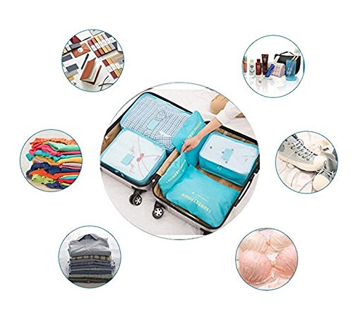 Travel Organizer Luggage Compression Pouches (random color)