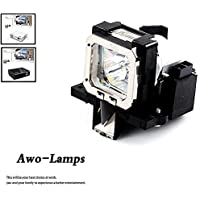 AWO PK-L2210U Premium Quality Projector Bulb with Housing For JVC DLA-F110/RS30/RS40U/RS45U/RS50/RS55/RS60/RS65/VS2100U/X3/X30/X7/X70/X9/X90
