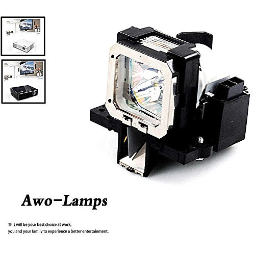 AWO PK-L2210U Premium Quality Projector Bulb with Housing For JVC DLA-F110/RS30/RS40U/RS45U/RS50/RS55/RS60/RS65/VS2100U/X3/X30/X7/X70/X9/X90 by AWO