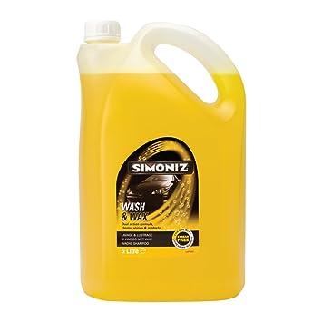 Simoniz Sim25 Wash And Wax 5 Litre Amazoncouk Car Motorbike