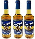 Torani Sugar Free Salted Caramel Syrup (25.4oz) 3 Pack