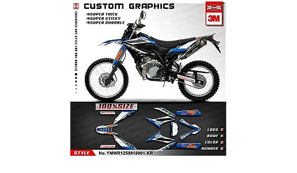 Yamaha WR 125X 2009 2010 2011 2012 2013 2014 2015 2016 2017 2018 Graphics Kit