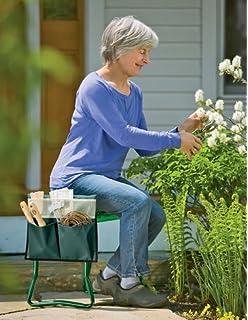Attractive Garden Tool Pouch For Kneeler Seat, Green