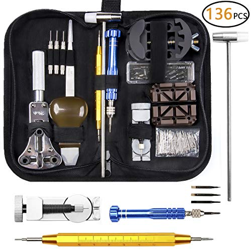 Watch Repair Kit, Electrapick Professional Spring Bar Tool Set, Watch Band Link Pin Removal Tool Set