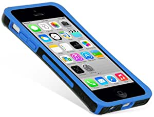 Dream Wireless Fusion Case for Apple iPhone 5C, Retail Packaging, Black/Blue