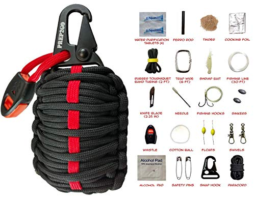 Paracord Survival Grenade Kit