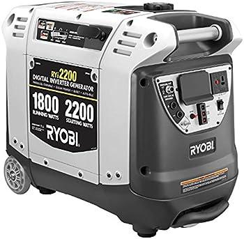 Ryobi RYI2200G 2200 Watt Gasoline Portable Generator